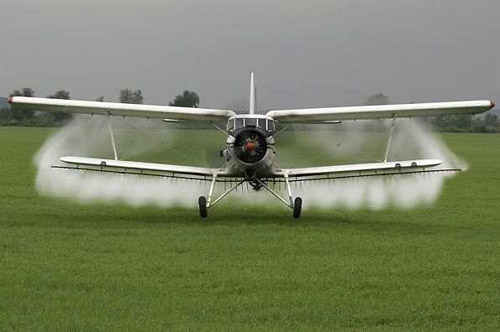 Începe acțiunea de dezinsecție aeriană în Șimian