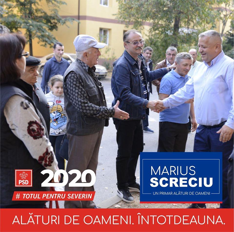 Marius Screciu candidează pentru un nou mandat de primar. Vezi aici detalii