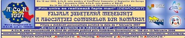 Filiala Județeană Mehedinti a Asociației Comunelor din România angajează auditor